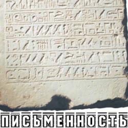 Письменность в Древнем Египте. Виды и материалы письма. Папирус