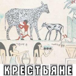 Крестьяне в Древнем Египте. Урожай, животноводство, пчеловодство